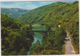 Cantal :  CASSANIOUZE : Le  Pont  De  Coursavy - Unclassified