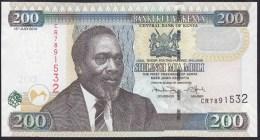 Kenya 200 Shillingi 2010 P49e UNC - Kenia