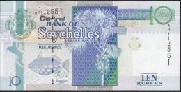 Seychelles 10 Rupees 2013 Pnew UNC - Seychelles