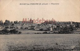 28 - BOISSY LES PERCHES  - Panorama - 2 Scans - Dos Vierge - France