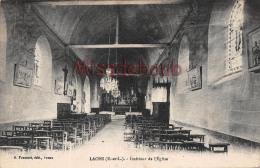 28 -  LAONS - Intérieur De L'Eglise-  2 Scans -  1934 - France