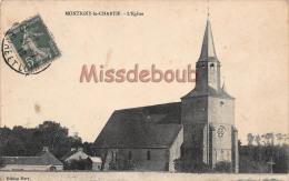 28 - MONTIGNY LE CHARTIF - Eglise - 2 Scans -1916 - Autres Communes