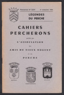 CAHIERS PERCHERONS , N°: XXIV  Du 4e Trimestre 1964. - Normandie