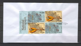 Cyprus 2014 Europa 2 Imperforate Sets From Booklet UNOFFICIAL FDC - Chypre (République)