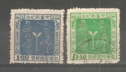 Sello Nº 207/8 Formosa - 1945-... República De China