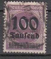 Deutsches Reich - Mi. 289 (o) - Oblitérés