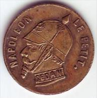 Napoléon III - Monnaie Satyrique - 1870 - - Errors & Oddities