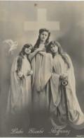 Thème - Religion - 3 Femmes Une Colombe Une Croix Et Une Ancre - Liebe Glaube Hoffnung (amour Foi Espoir) - Altri