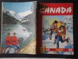 Jim Canada  N° 3 Editions  Impéria  Petit Format  1958   Bon état - Small Size