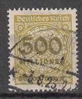 Deutsches Reich - Mi. 324a (o) - Oblitérés