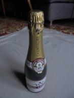 Petit Lot De 2 Bouteilles Factices Champagne Rosé P. LEREDDE Crouttes S/Marne - Champagne & Mousseux