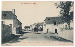 CPA - LOUCRUP (Hautes Pyrénées) - Route De Bagnères à Lourdes - LOUCRUP - Intérieur Du Village - Autres Communes