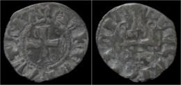 Crusader Archaia Philipp Of Tarent Billon Denier No Date - Autres Pièces Antiques