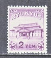 RYUKU ISLANDS  10   ** - Ryukyu Islands