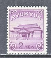 RYUKU ISLANDS  10   **   3rd.  Printing - Ryukyu Islands