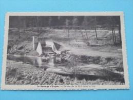 Le Barrage D'Eupen - Entrée De La Hill Dans Le LAC () / Anno 19?? ( Zie Foto Details ) !! - Eupen