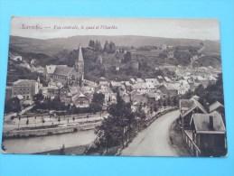Vue Centrale, Le Quai Et L'Ourthe - Anno 1910 ( Zie Foto Voor Details ) !! - La-Roche-en-Ardenne