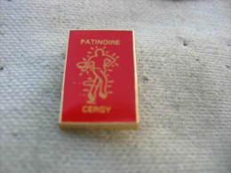 Pin´s De La Patinoire De CERGY - Patinage Artistique