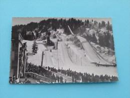 Garmisch-Partenkirchen OLYMPIA ( Photo Beckert ) Photo Card ( Zie Foto Details ) !! - Sports D'hiver