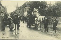 CPA   Corrèze Lapleau  La Cavalcade Fête  Défilé - Autres Communes