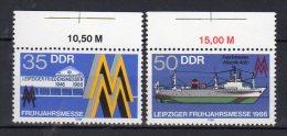DDR    3003 - 3004  ** Postfrisch - Ungebraucht