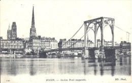 HAUTE NORMANDIE - 76 - SEINE MARITIME - ROUEN - Ancien Pont Suspendu - Rouen