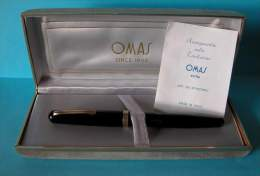 Penna Stilografica Omas Extra Art. 620  Stantuffo - Modello Lady - Penne