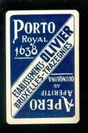 Speelkaart ( 668 ) Dos D´ Une Carte à Jouer - Wijn Vin Likeur Liqueur Distillerie Stokerij - Trazegnies PORTO - Carte Da Gioco