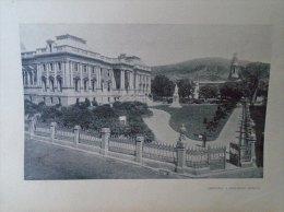 South Africa  - CAPE TOWN  Parliament   1906 - Hungarian Print  2AFK.350.1 - Altre Collezioni