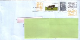 """France - Letter  Circulated In 2014 From Boussac At Suceava,Romania ,franking """" Rich """" - France"""