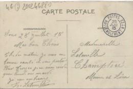 WWI WW1 - GARE DE RASSEMBLEMENT N° 22 - 1. Weltkrieg 1914-1918