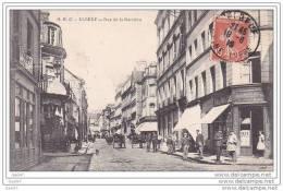 "Cpa  Réf  Z0.548   (  Dép  76   )     ELBEUF  1910        """"   Rue  De La Barriére   "" - Elbeuf"
