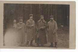 CARTE PHOTO : 506 ème Régiment De Chars De Combat - Peut être Des Prisonniers De Guerre à ZEITHAIN  Allemagne,Voir SCAN - Sonstige
