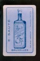 Speelkaart ( 691 ) Dos D´ Une Carte à Jouer - Wijn Vin Likeur Liqueur Distillerie Stokerij - E.Sauté  Bruxelles - Autres Collections
