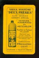 Speelkaart ( 697 ) Dos D´ Une Carte à Jouer - Wijn Vin Likeur Liqueur Distillerie Stokerij -  Bruggeman  Gand Gent - Autres Collections