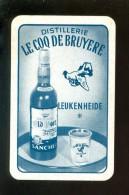 Speelkaart ( 702 ) Dos D´ Une Carte à Jouer - Wijn Vin Likeur Liqueur Distillerie Stokerij -  Leukenheide - Andere Verzamelingen