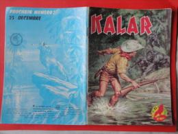Kalar   N°25 Editions  Impéria  Petit Format      Bon état+ - Petit Format
