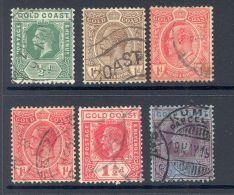 GOLD COAST, George V To 2/- (2/- Poor Corner) - Gold Coast (...-1957)