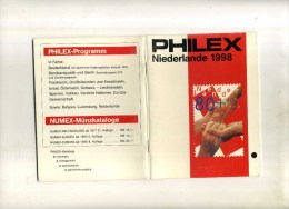 - PAYS BAS . CATALOGUE DE TIMBRES 1998 . FORMAT POCHE . - Holanda