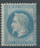 Lot N°30055   Variété/n°29, Oblit GC, Filet OUEST - 1863-1870 Napoleone III Con Gli Allori
