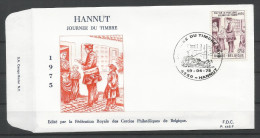 ENVELOPPE FDC (P 445F)  TP N° 1765 (CACHET POSTAL DE HANNUT) - FDC