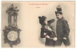 Bergeret - LE BAROMÈTRE DU MÉNAGE - Tempête - Bergeret