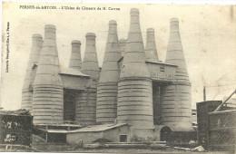 62  PERNES   EN    ARTOIS    L  USINE DE  CIMENT  DE  M  CARTON - France