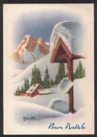 AC56     Bonelli - Buon Natale - Paesaggio Invernale - Illustratori & Fotografie