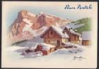 AC57     Bonelli - Buon Natale - Paesaggio Invernale - Illustratori & Fotografie