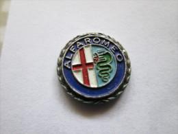 Alfa Romeo Silberkranz Anstecknadel - Alfa Romeo