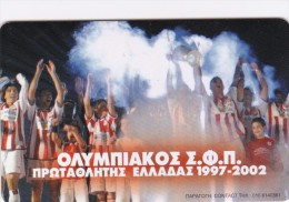 Greece, X1453, Olympiakos F.c., Football, Only 35.000 Issued, 2 Scans. - Greece