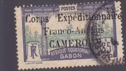 CAMEROUN : Corps Expéditionnaire Franco-Anglais / Y&T : 46 O - Cameroun (1915-1959)