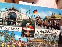 GERMANY GRUSS VOM  OCTOBERFEST PARADE  VUES   V1968  EW1861 - München