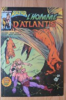 Kazar Ou Ka-Zar - N°3 L'Homme D'Atlantis - Marvel & Aredit 1983 - Arédit & Artima